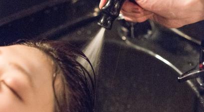 美容室 トリートメントの流れ 炭酸ソーダ 毛髪改善