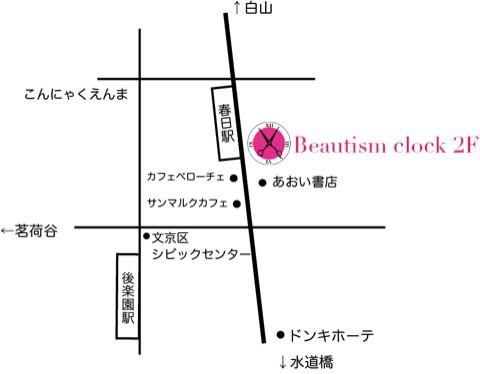 クロック地図